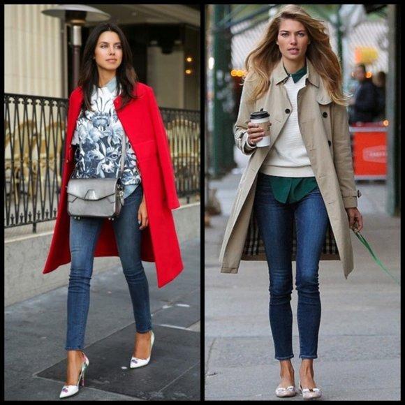 J. Crew Downtown blue skinny jeans sz.28